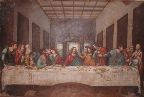 the last supper fresco or not fresco arte